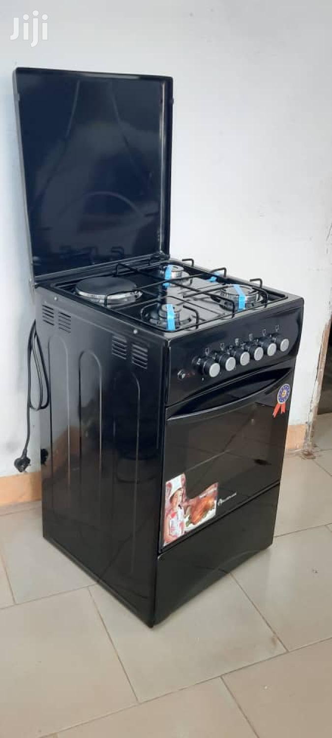 Blueflame 1electric + 3 Gas Cooker