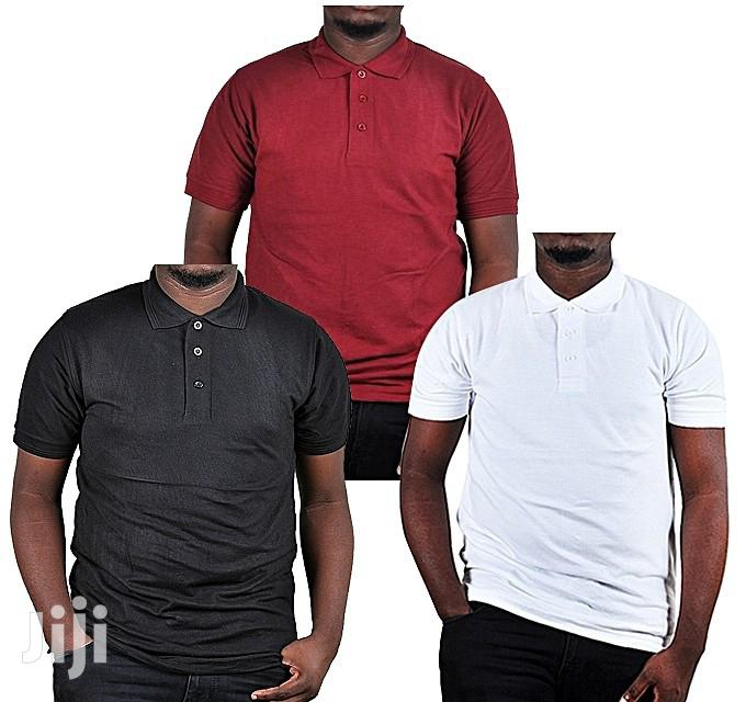 3 Pack of Short Sleeved Men'S Polo T-Shirts   Clothing for sale in Kampala, Central Region, Uganda