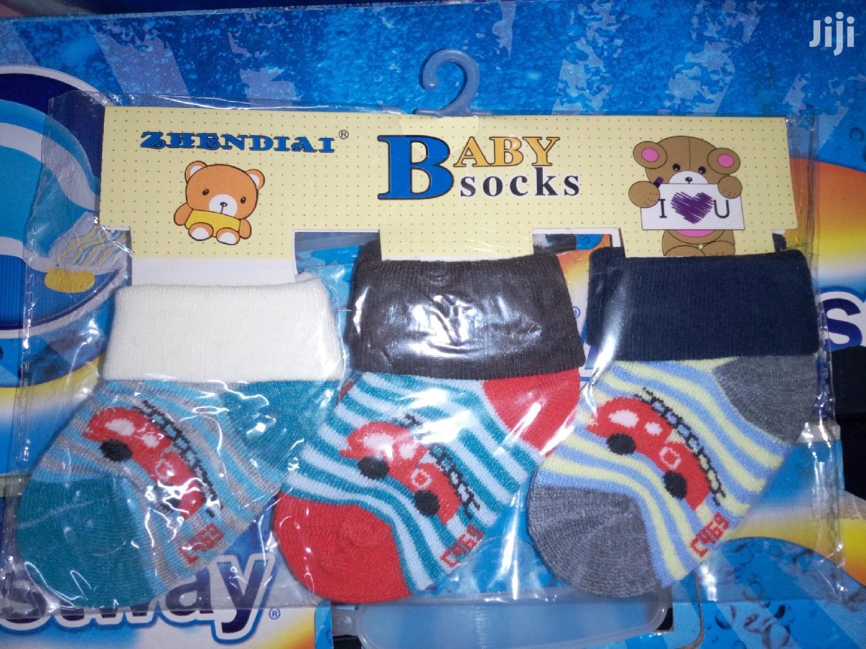3 Pairs Baby Socks