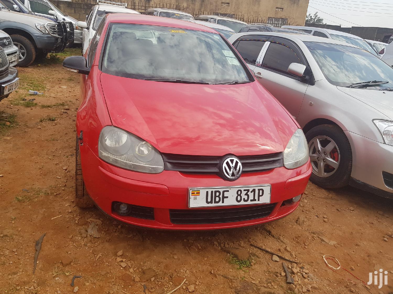 Volkswagen Golf 2007 Red