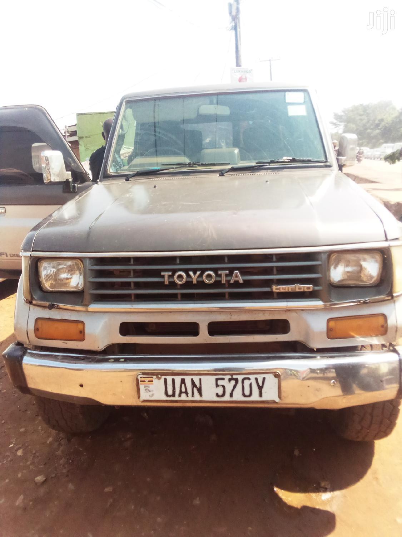 Toyota Land Cruiser Prado 1998 Brown