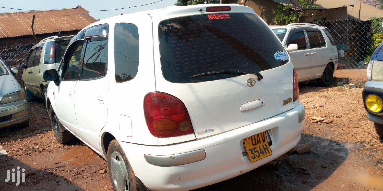 Toyota Spacio 1999 White   Cars for sale in Kampala, Central Region, Uganda