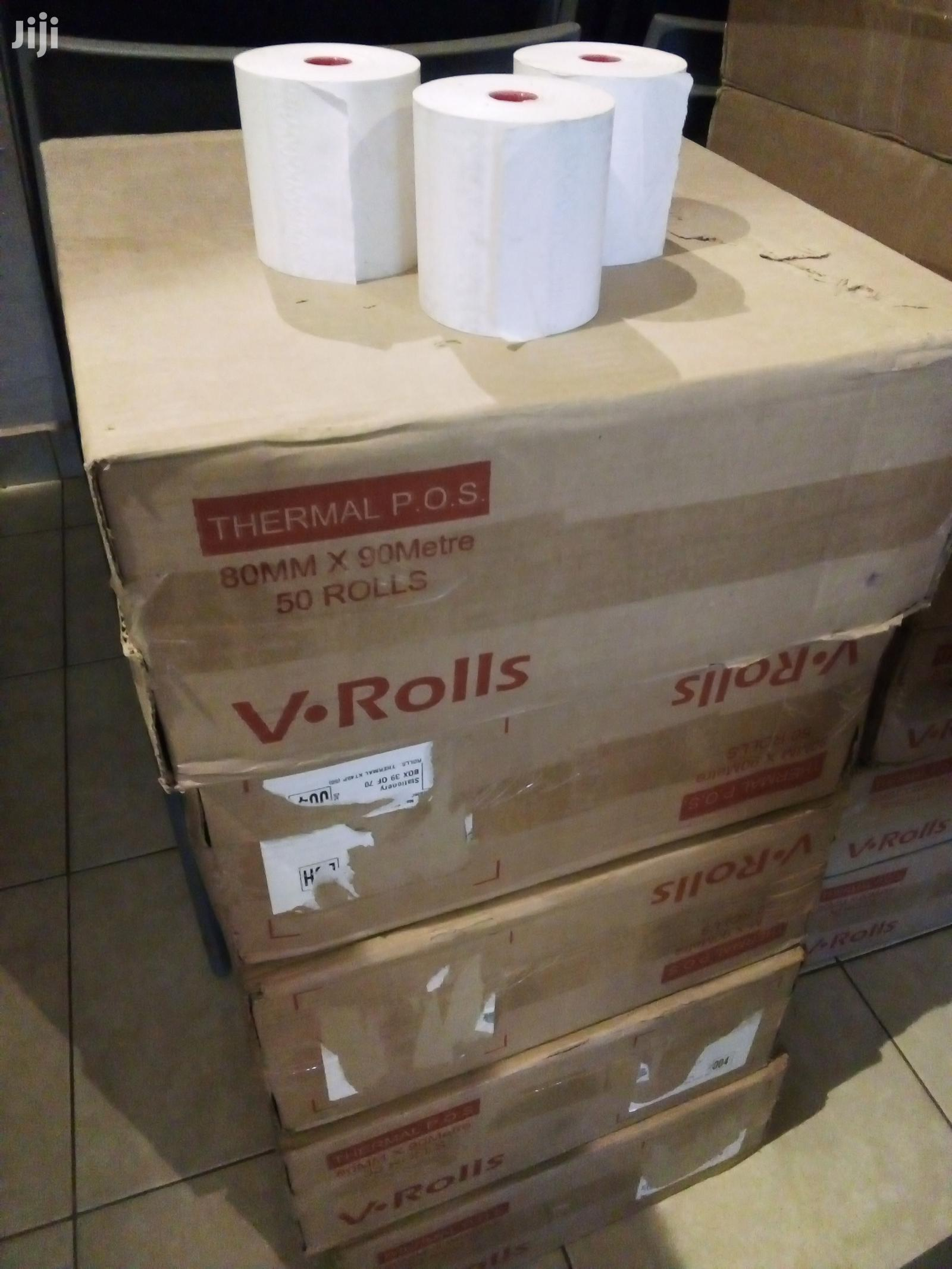 80MM×90metres Thermal Rolls (50 Rolls/Pcs)