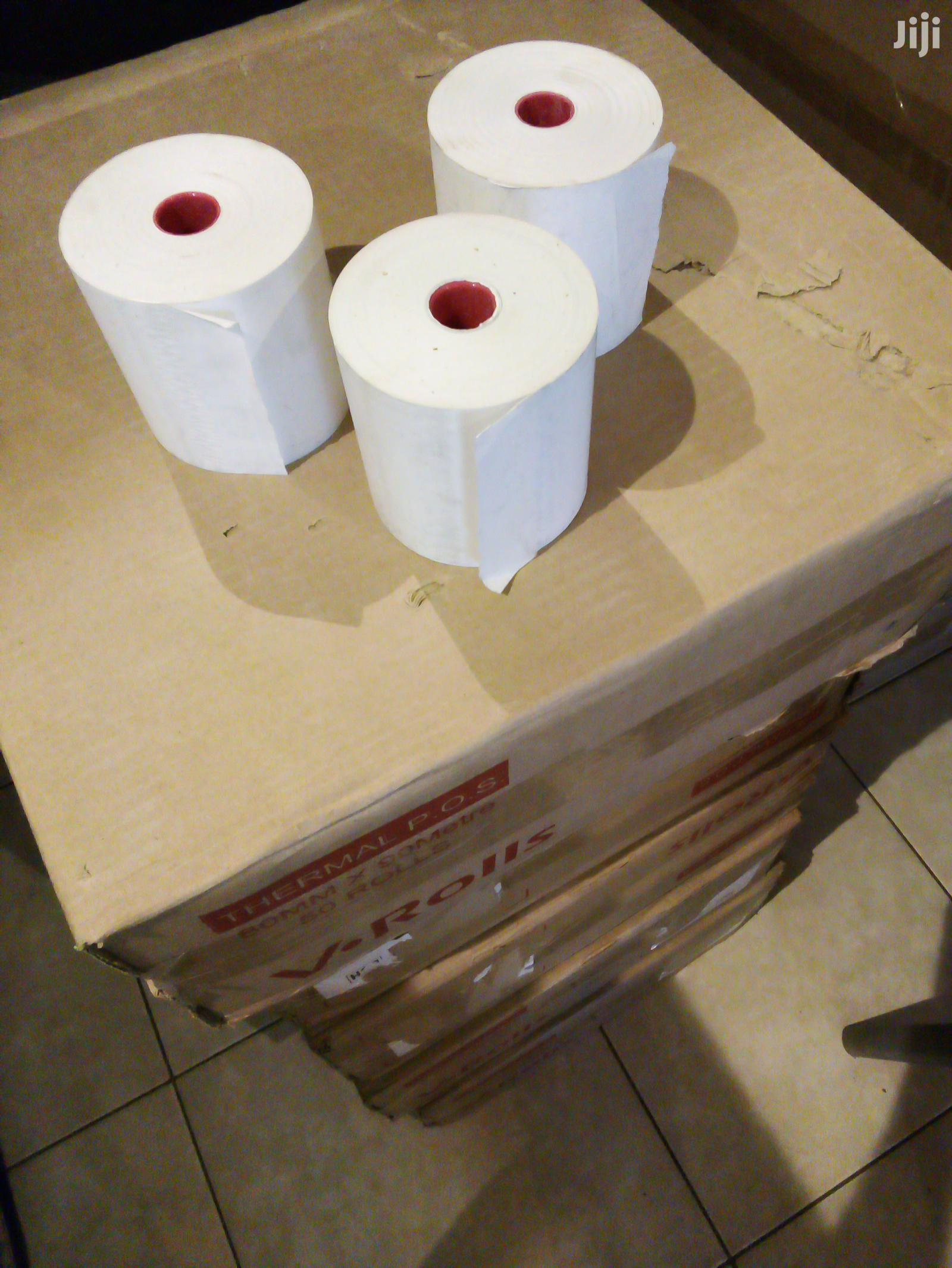 80MM×90metres Thermal Rolls (50 Rolls/Pcs) | Printing Equipment for sale in Kampala, Central Region, Uganda