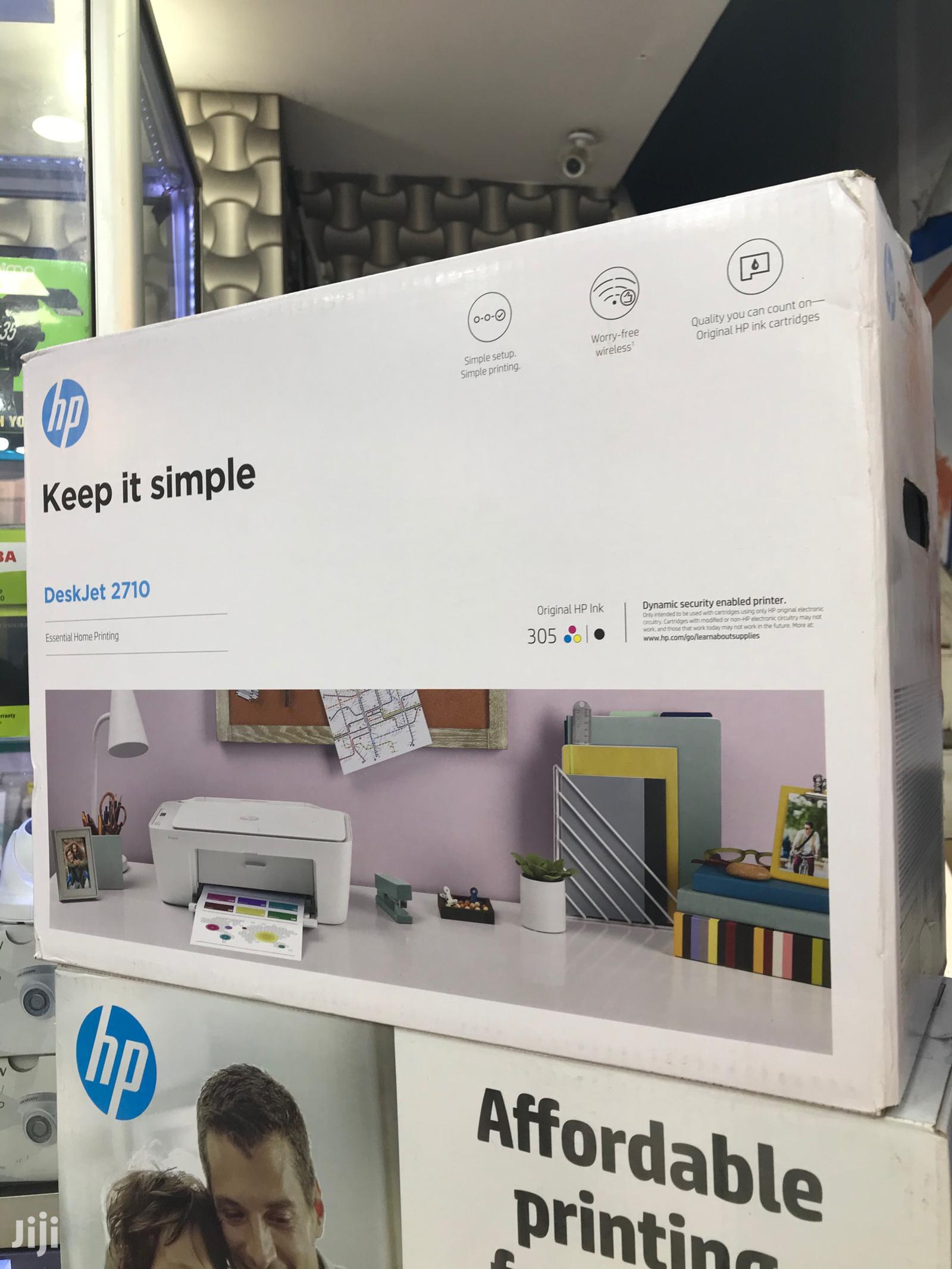 Hp Deskjet 2710 Colored Printer(All-in-one)