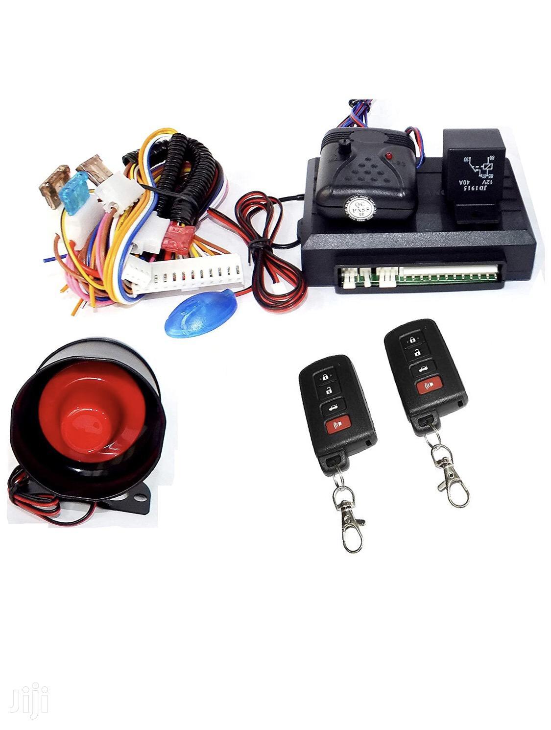 Universal Car Alarm Systems With O2 Remote Control Keys