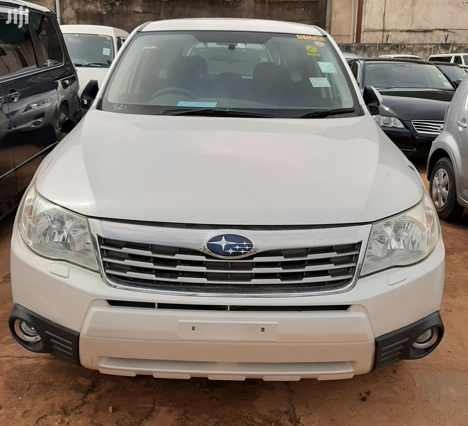 Subaru Forester 2009 White