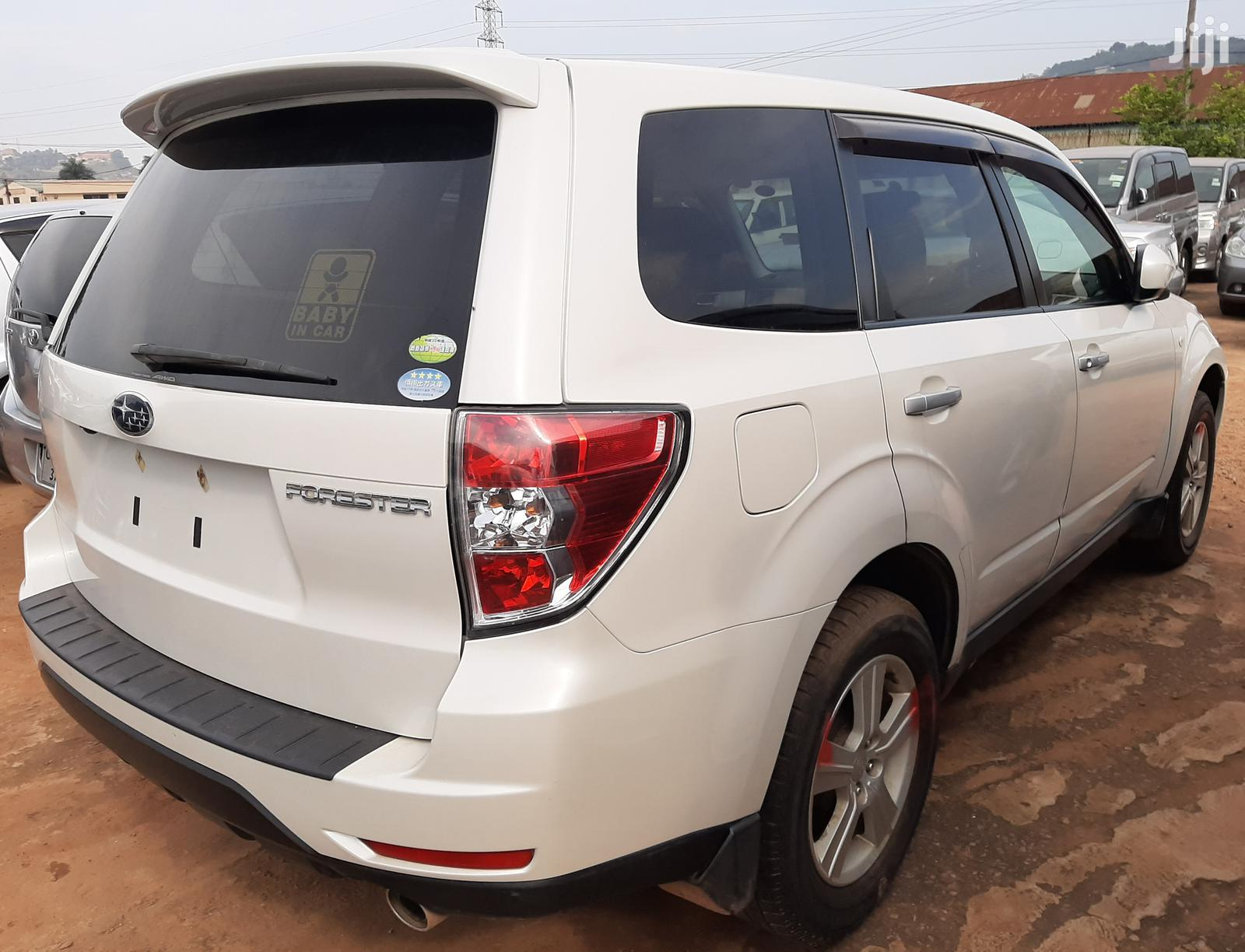 Subaru Forester 2009 White | Cars for sale in Kampala, Central Region, Uganda