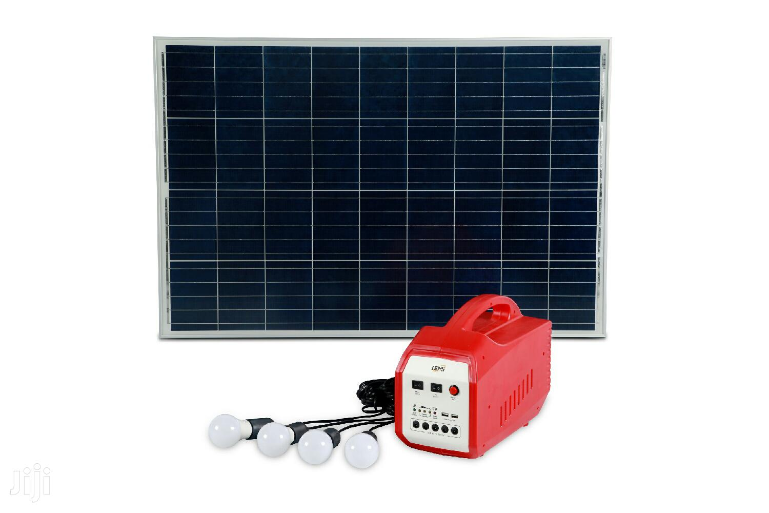 Complete Portable Solar System Kit