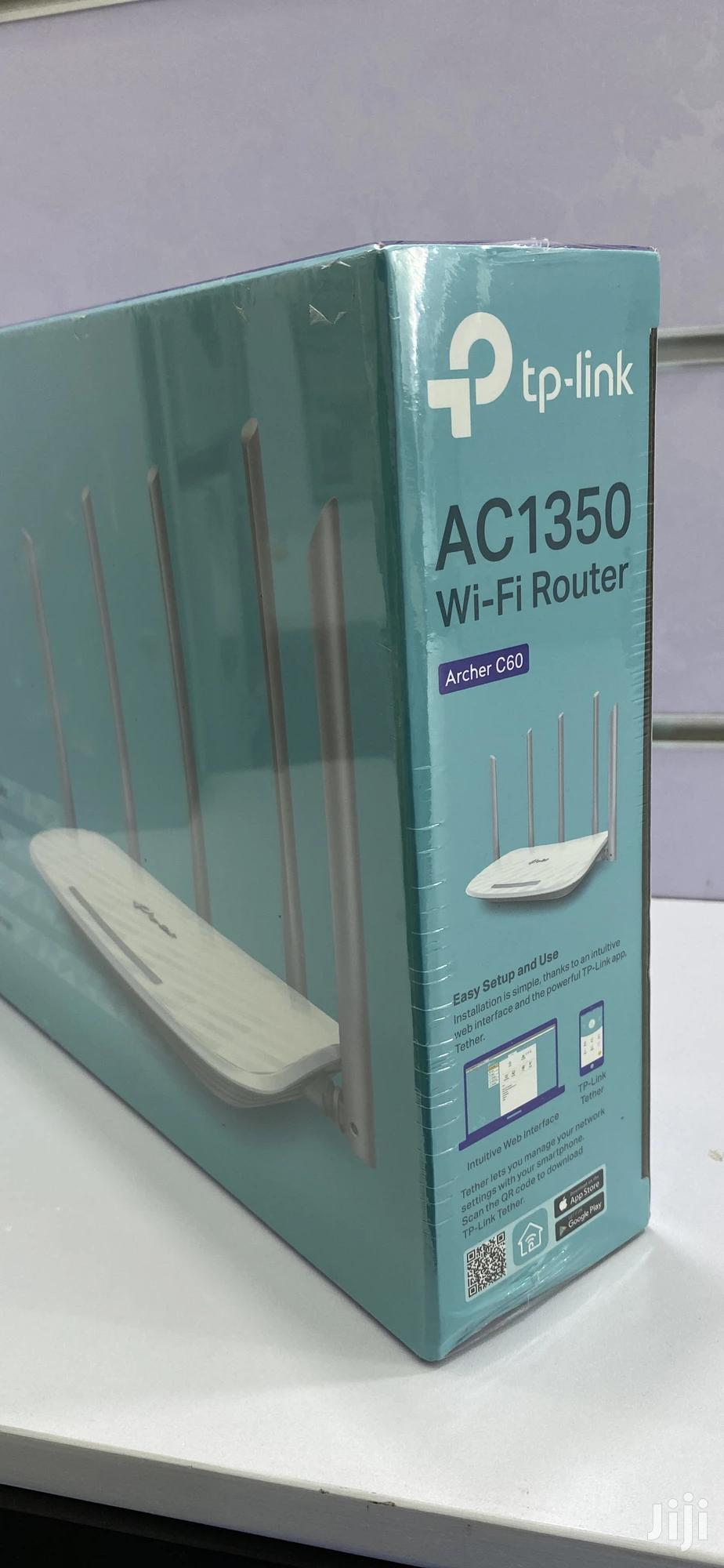 Tp-link Archer C60 Dual Band Wifi Router | Networking Products for sale in Kampala, Central Region, Uganda
