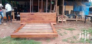 Floating Natural Hard Wood Bed | Furniture for sale in Central Region, Kampala