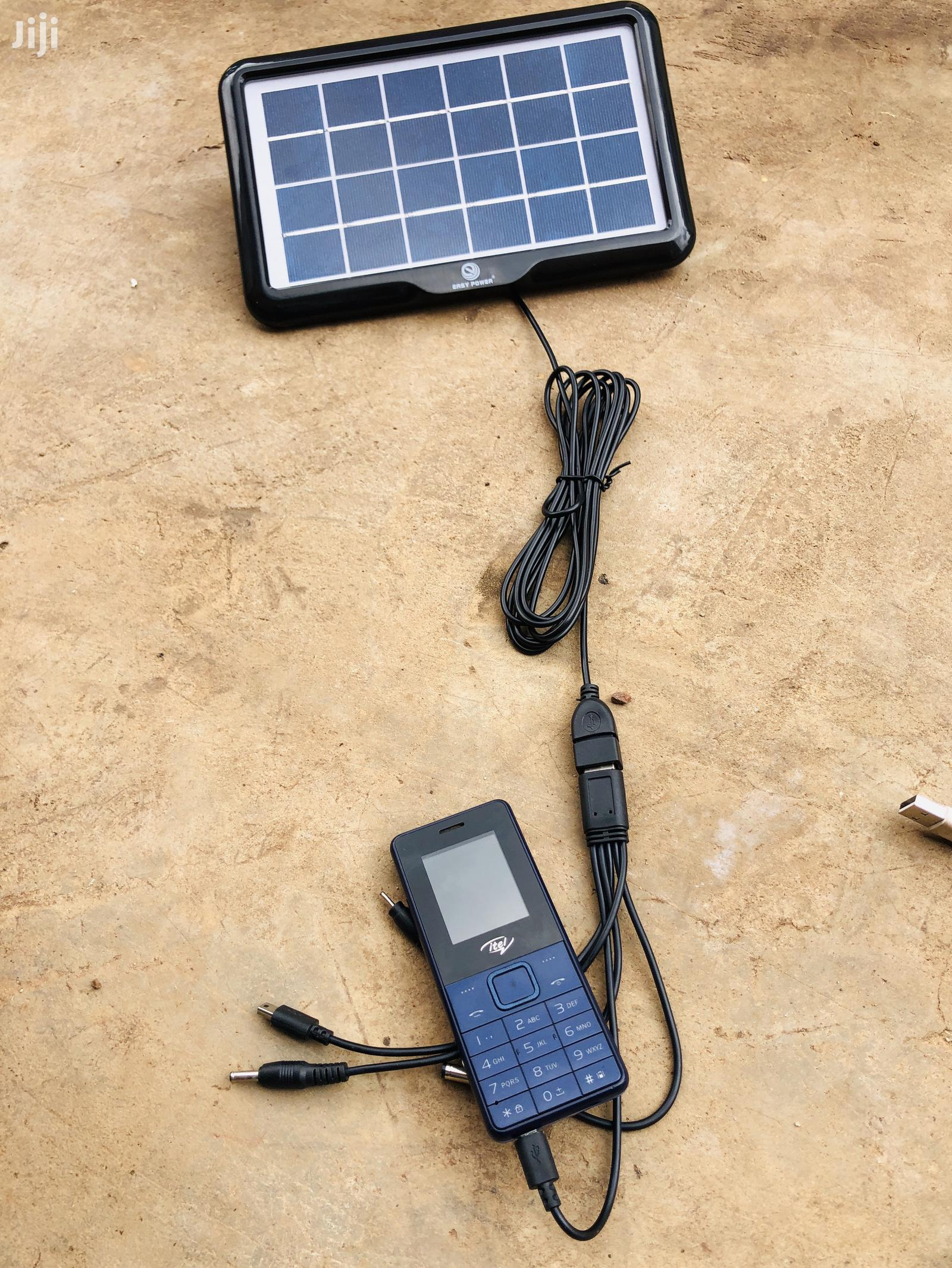 Plug and Play Multi Purpose Solar Charger