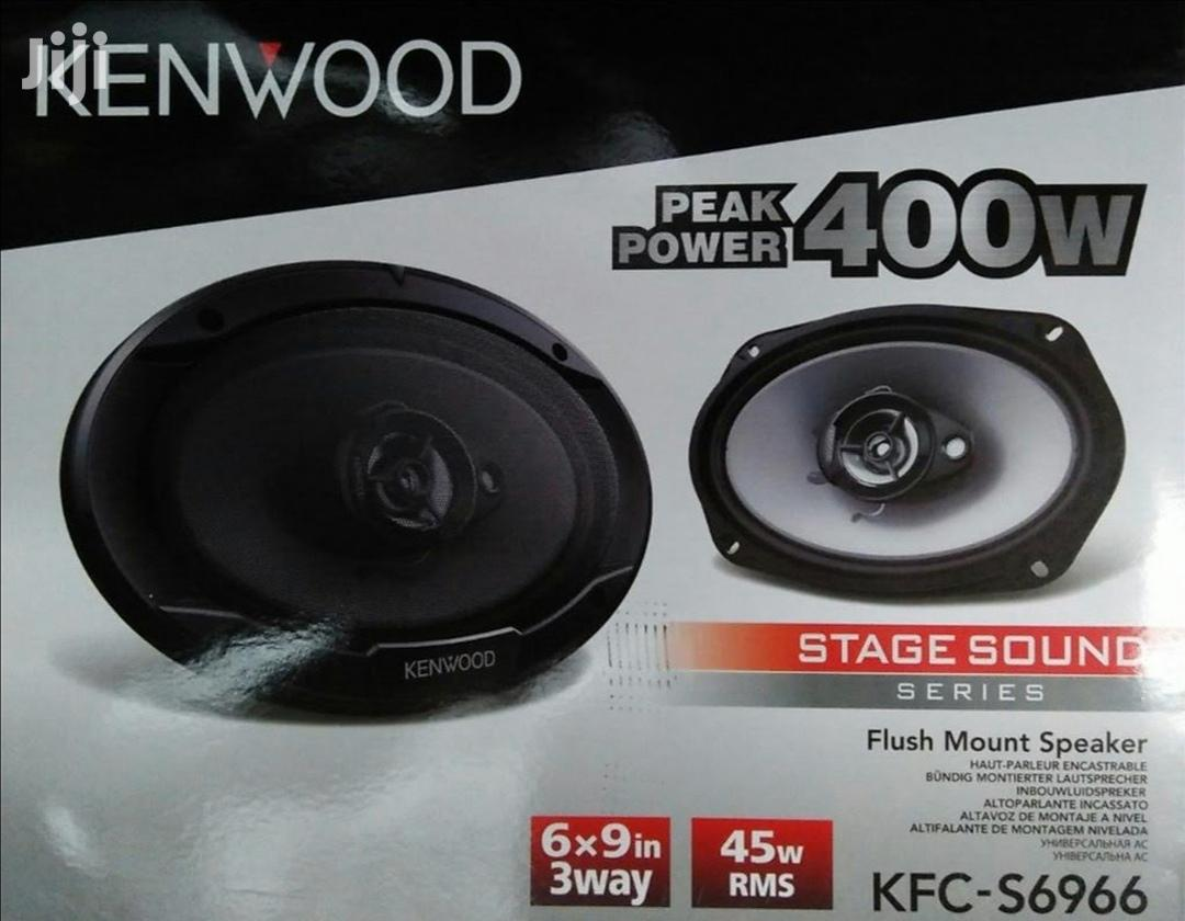 Kenwood 3 Way 6x9 Car Speakers 400W