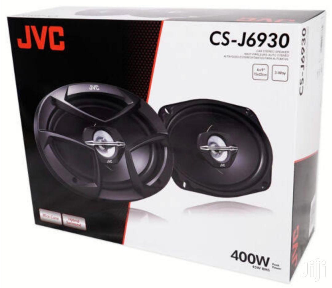 """JVC 3-Way 6x9"""" J Series Car Speakers 400W"""