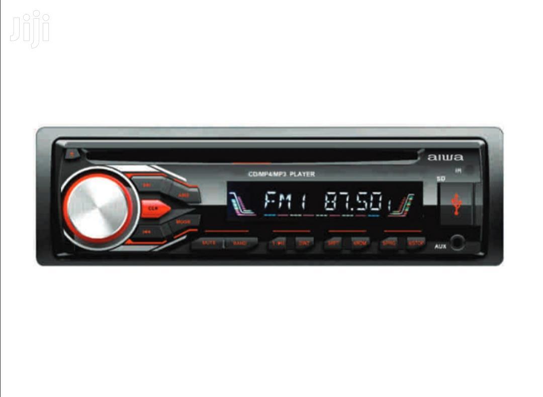 Aiwa Front Loader Detachable CD Car Radio