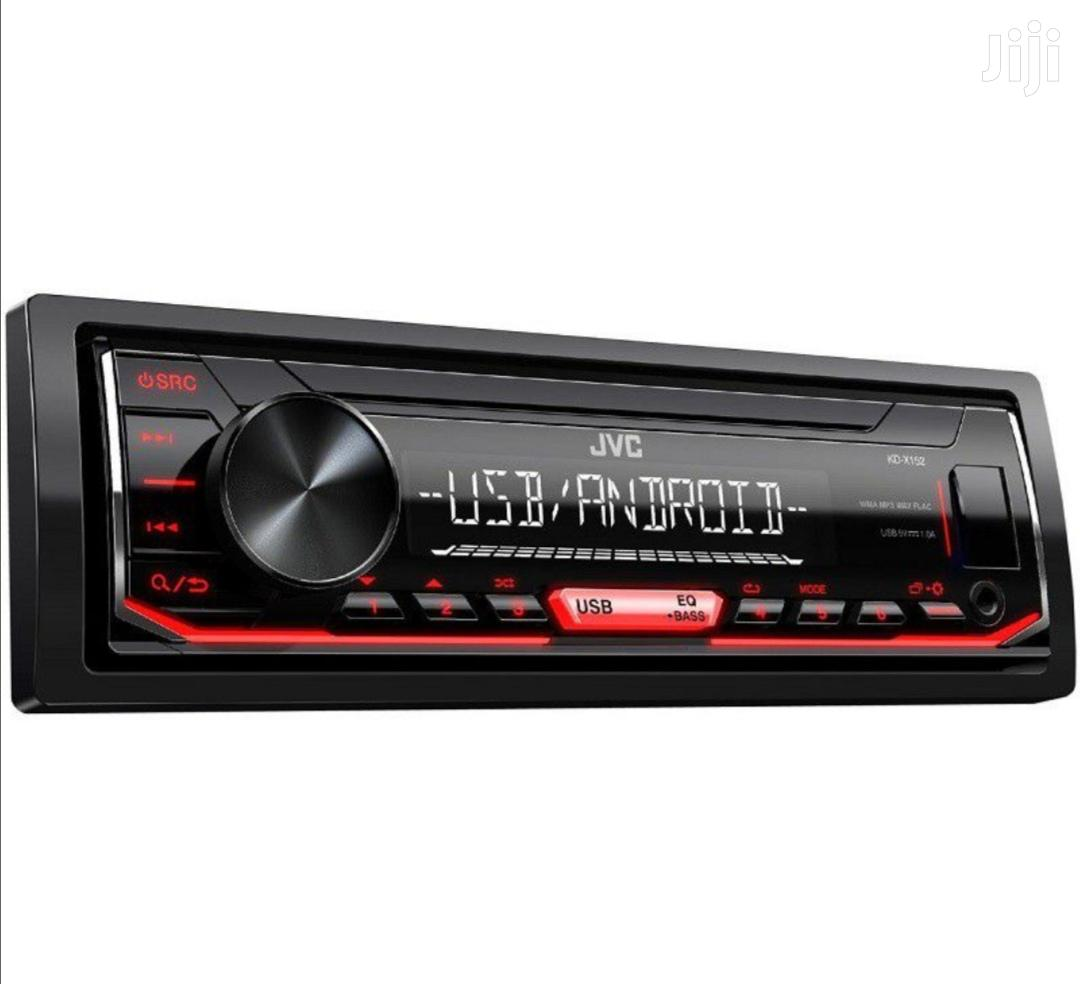 JVC Digital Media Receiver With Front USB AUX Car Radio
