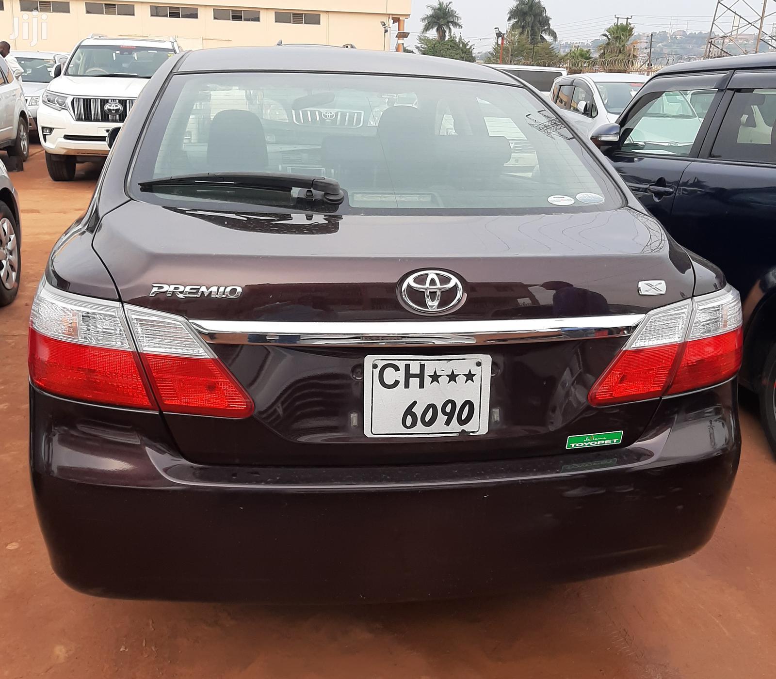 Toyota Premio 2007 Red   Cars for sale in Kampala, Central Region, Uganda