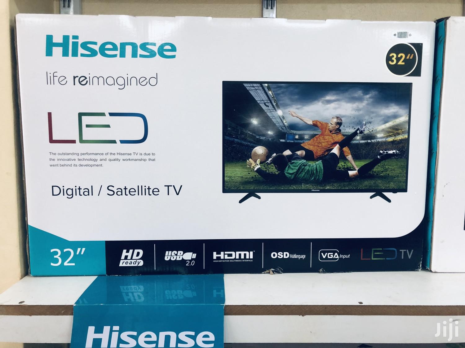 Hisense Digital Flat Screen 32 Inches | TV & DVD Equipment for sale in Kampala, Central Region, Uganda