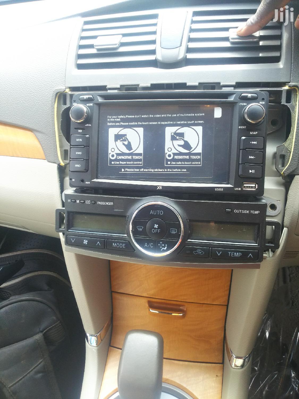 Archive: Toyota Premio 2008 Radio And Console