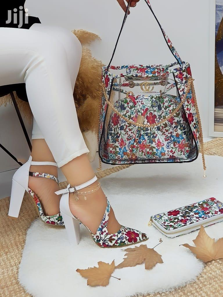 Women's Turkish Shoes With Different Designer Bags