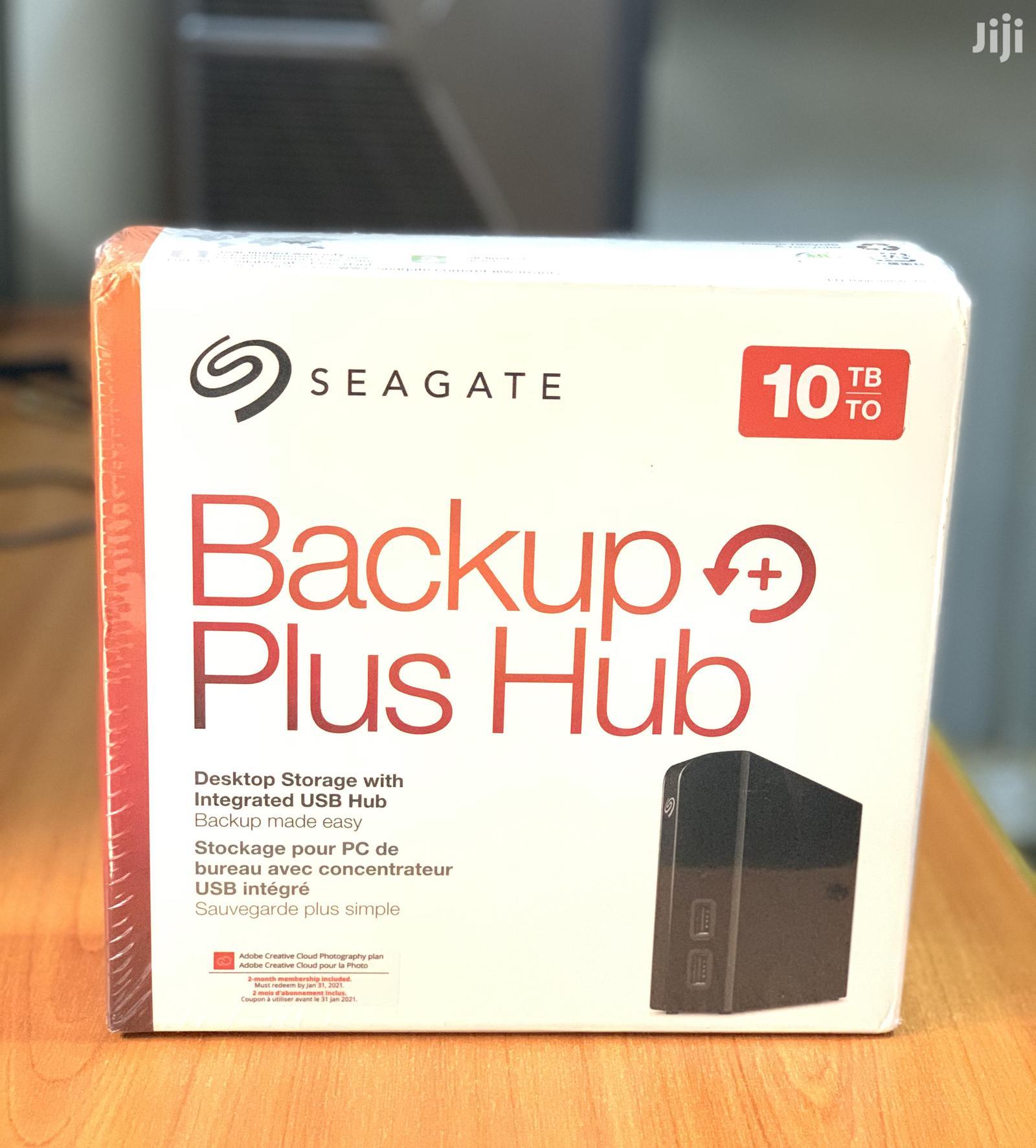 Seagate 10TB Backup Plus Hub