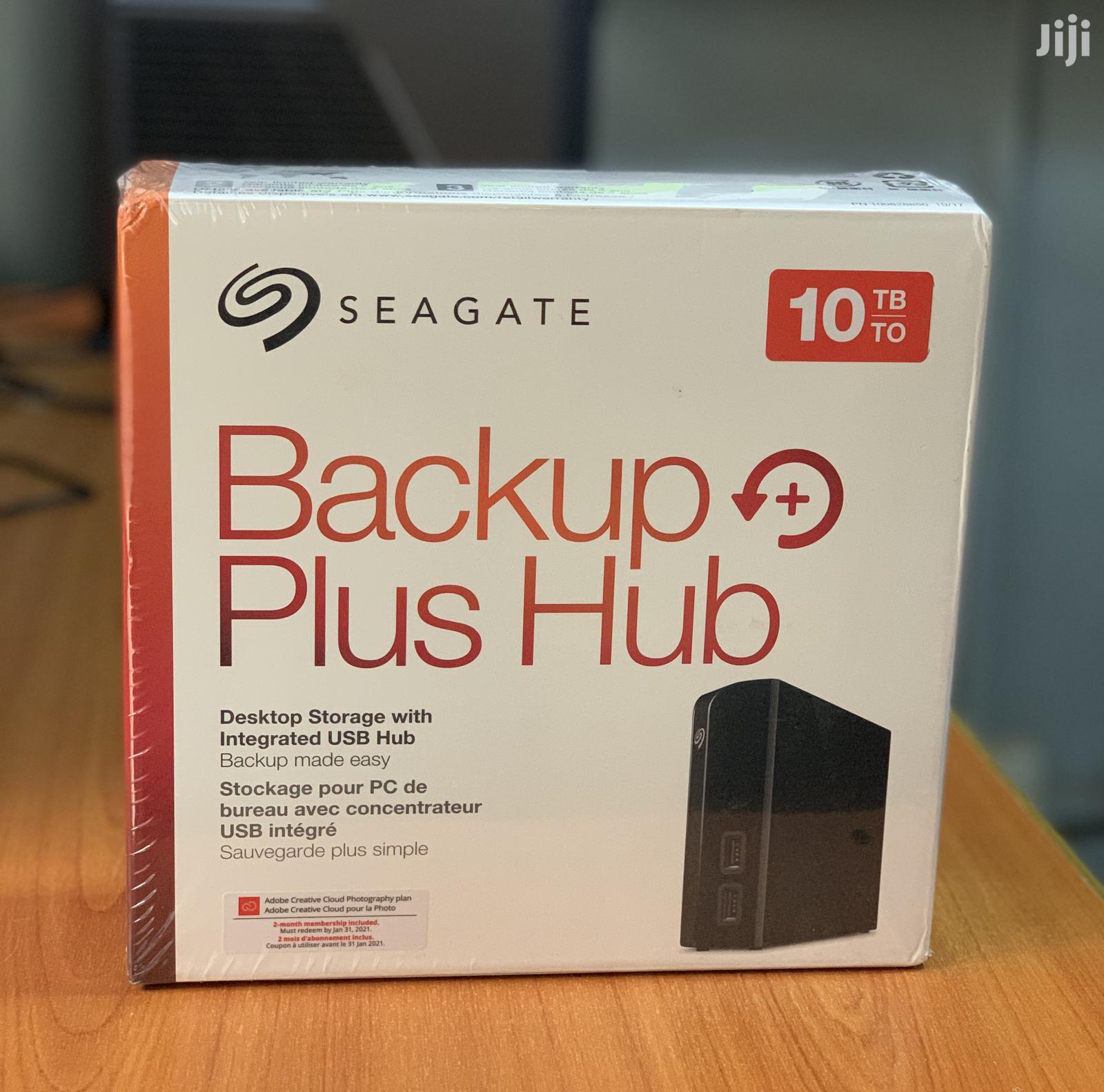 Seagate 10TB Backup Plus Hub | Computer Hardware for sale in Kampala, Central Region, Uganda