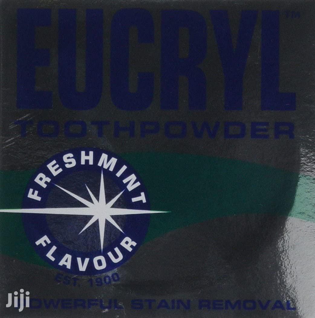UK Eucryl Toothpowder Freshmint Stain Remover 50G   Bath & Body for sale in Kampala, Central Region, Uganda