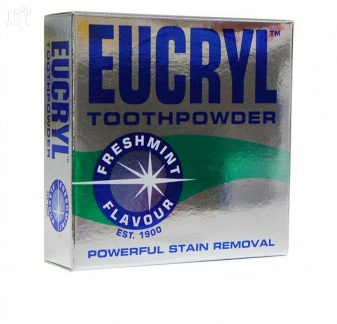 UK Eucryl Toothpowder Freshmint Stain Remover 50G