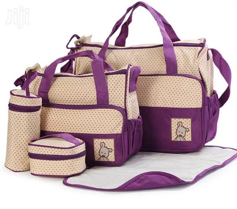 5 In 1 Baby Diaper Bag
