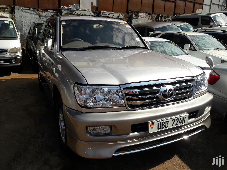 Toyota Land Cruiser 2003 Silver