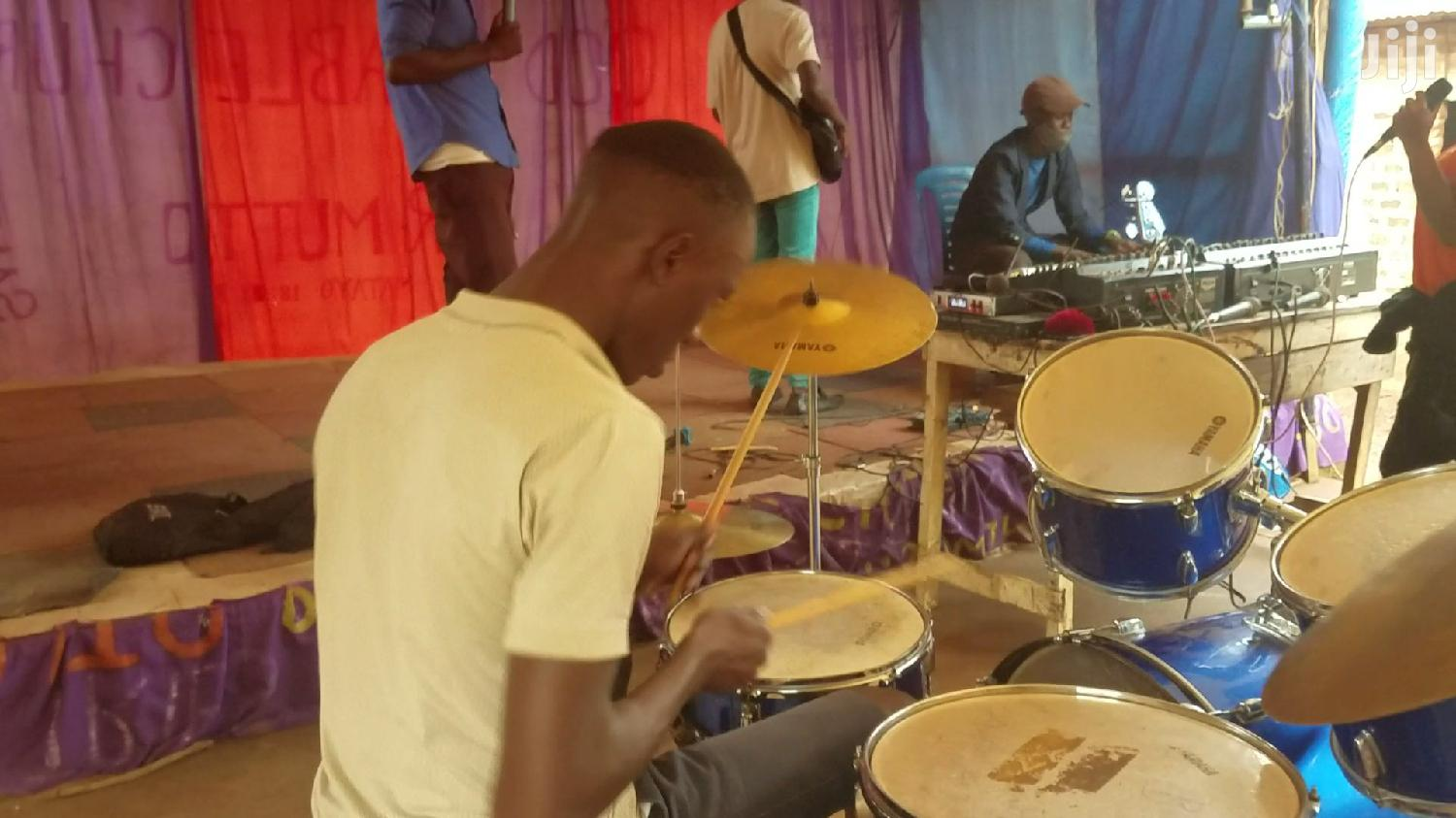 Jazz Drummer Available
