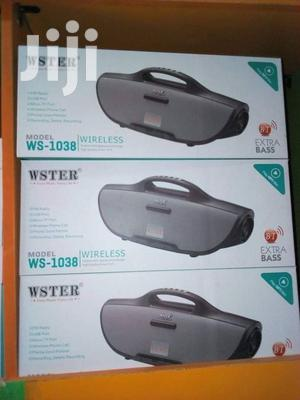 Ws 1038 Bluetooth Speaker   Audio & Music Equipment for sale in Central Region, Kampala