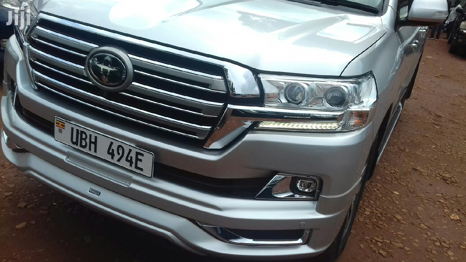 Archive: Toyota Land Cruiser 2016 Silver