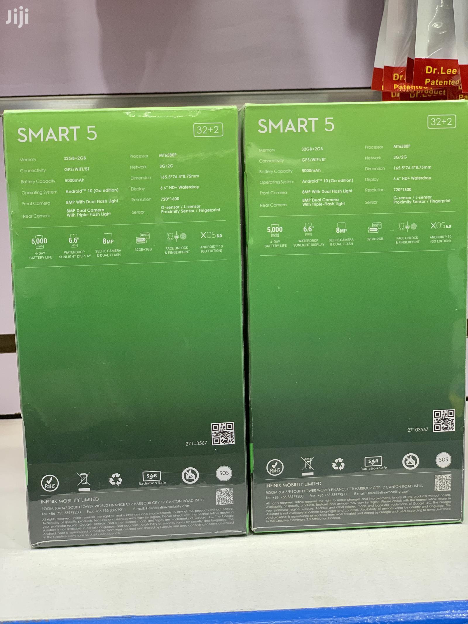 New Infinix Smart 5 32 GB | Mobile Phones for sale in Kampala, Central Region, Uganda