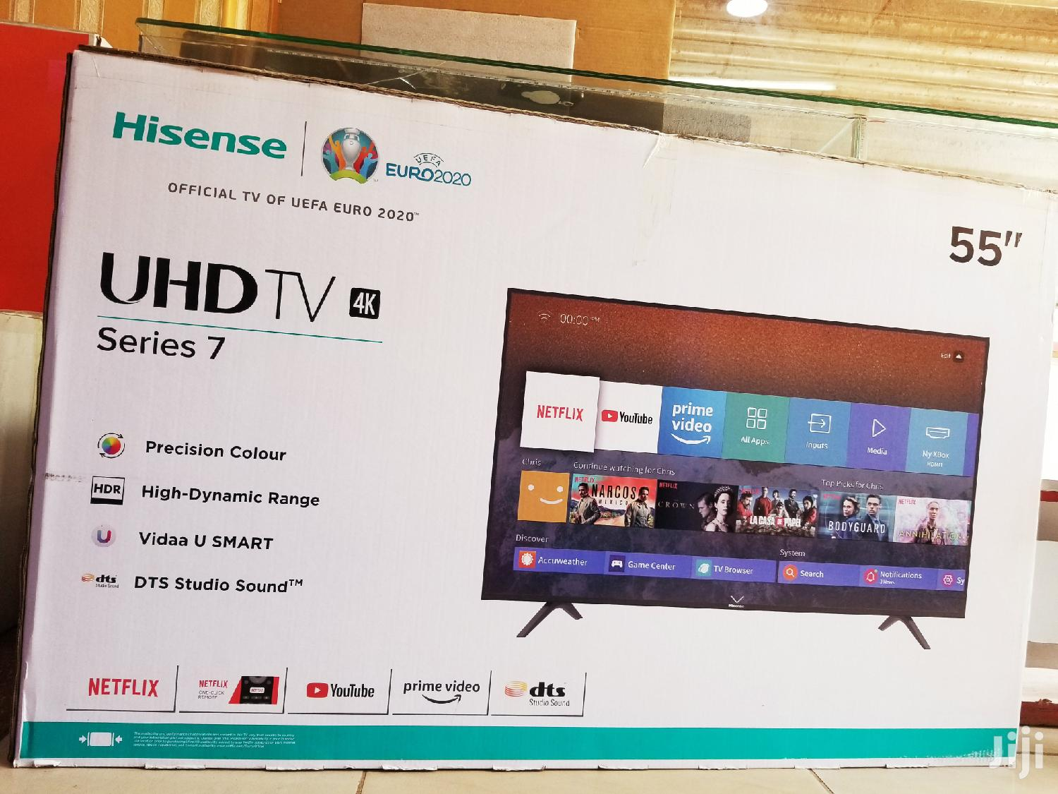 Hisense TV Flatscreen 55 Inches Smart