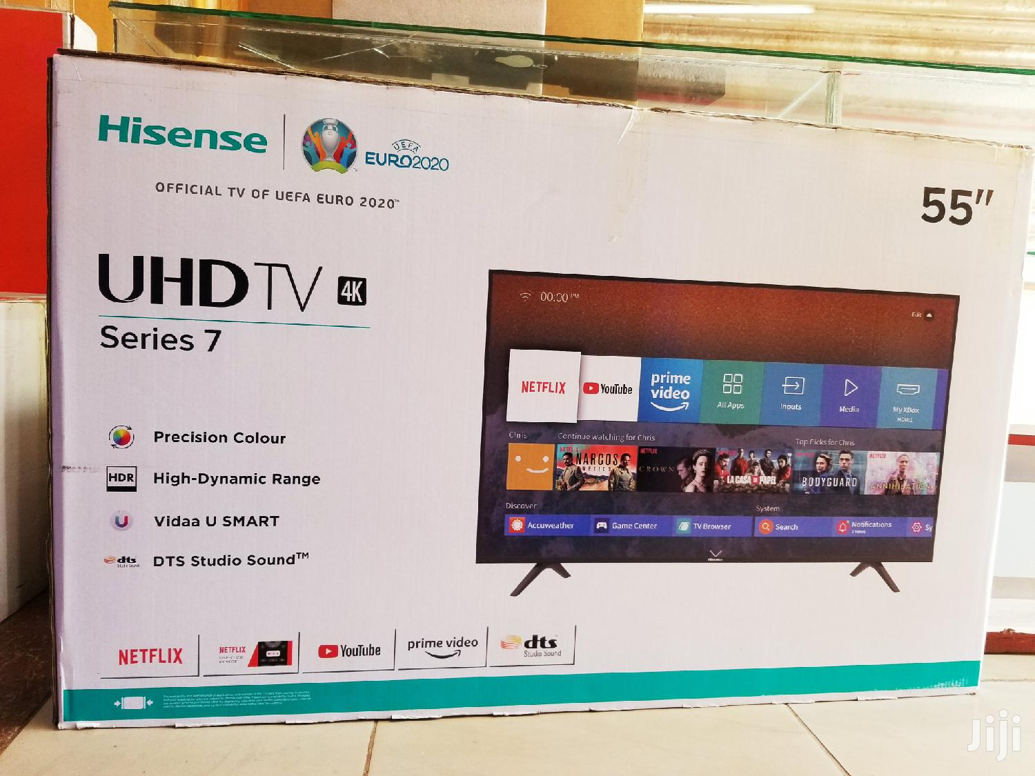Hisense TV Flatscreen 55 Inches Smart | TV & DVD Equipment for sale in Kampala, Central Region, Uganda