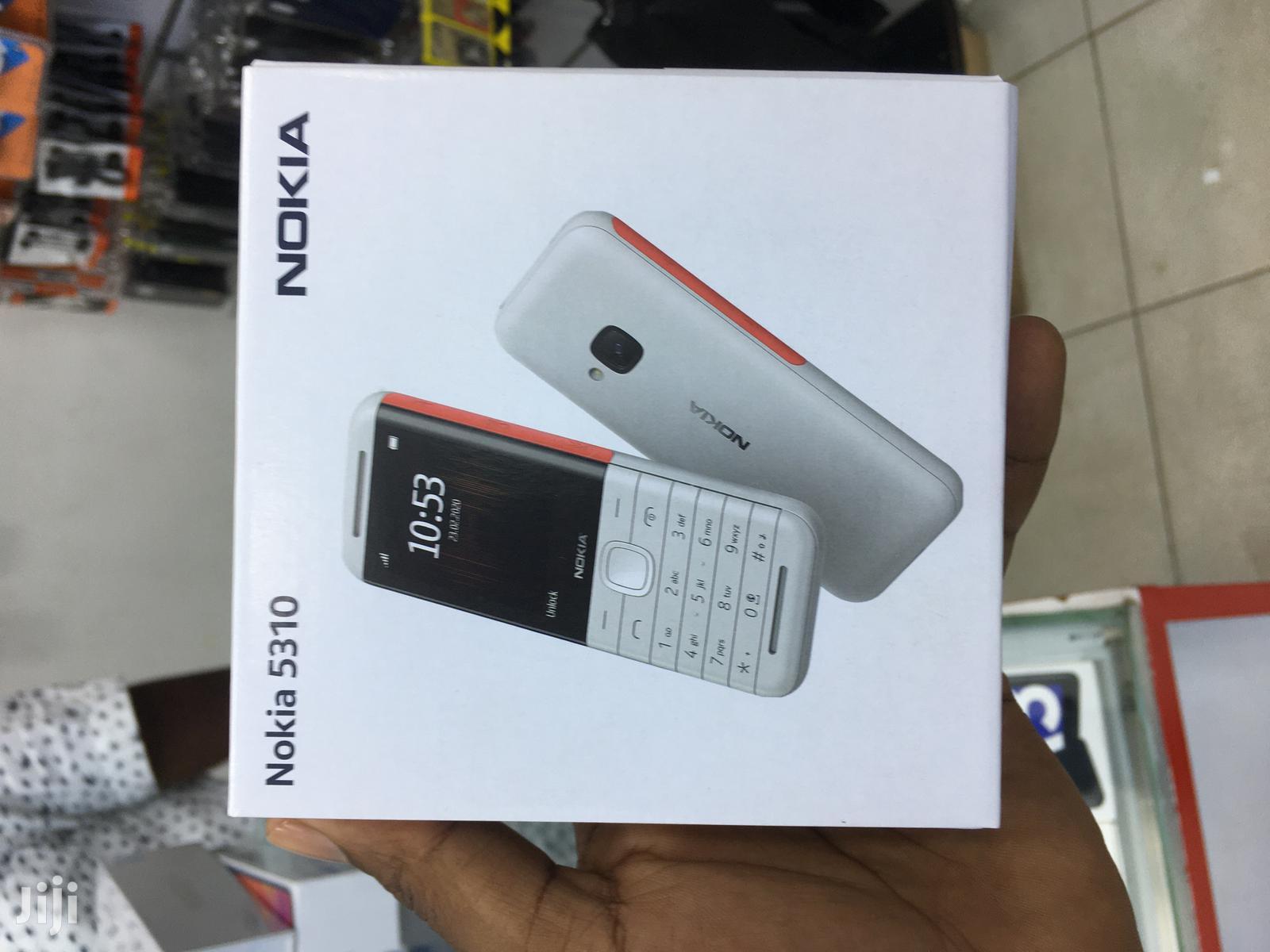 New Nokia 5310 XpressMusic White