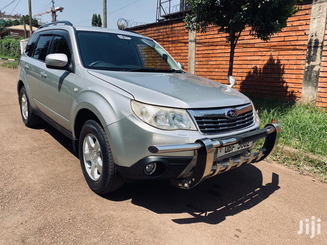 Archive: Subaru Forester 2008 Silver