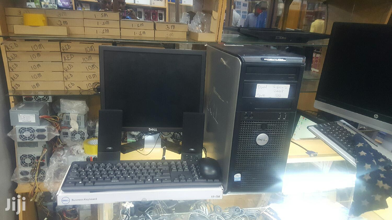Desktop Computer Dell 2GB Intel Core 2 Duo HDD 160GB | Laptops & Computers for sale in Kampala, Central Region, Uganda