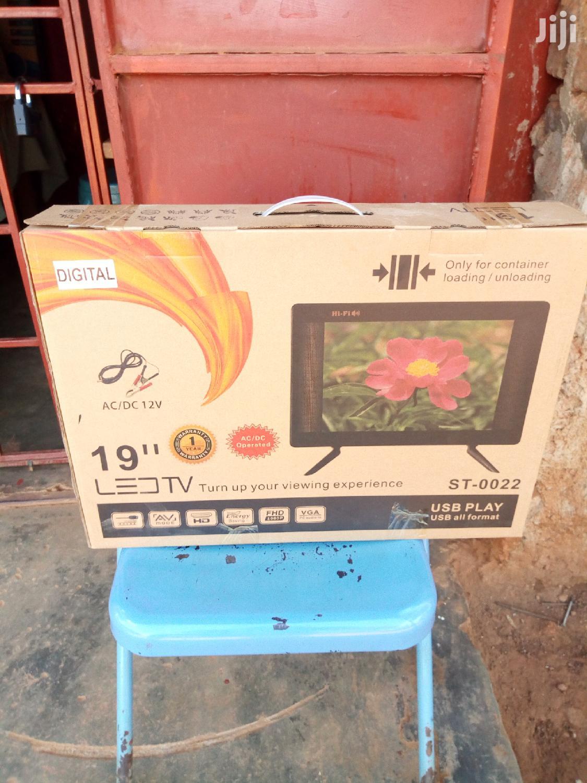 Digital Flat Screen TV 19 Inches