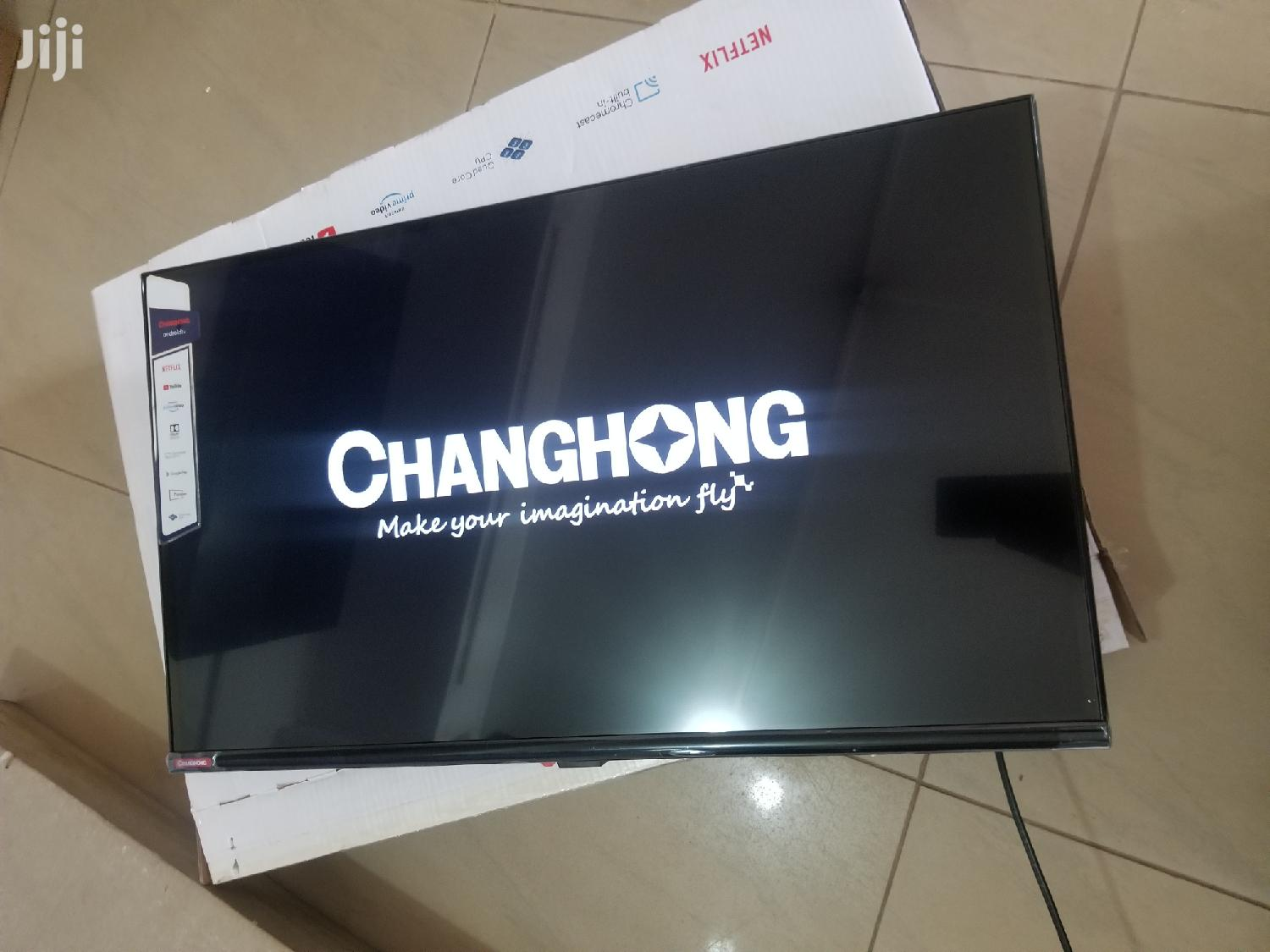 32 Inches Led Changhong TV Smart   TV & DVD Equipment for sale in Kampala, Central Region, Uganda