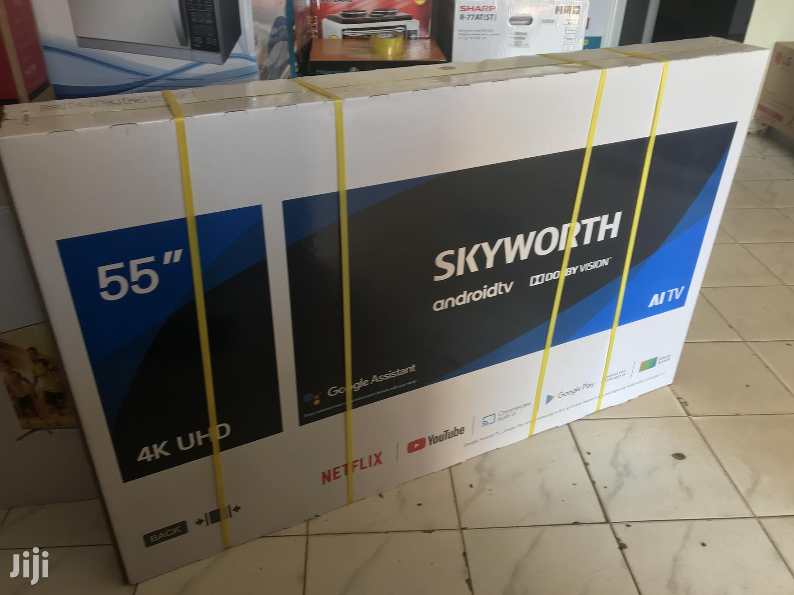 Skyworth 55 Inches Smart UHD | TV & DVD Equipment for sale in Kampala, Central Region, Uganda