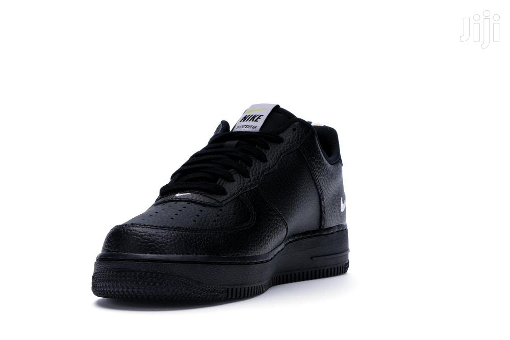 Nike Air Force 1 Low Utility Black White Size 11 | Shoes for sale in Kampala, Central Region, Uganda