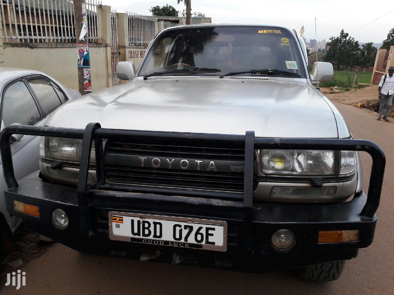 Toyota Land Cruiser 1998 Silver