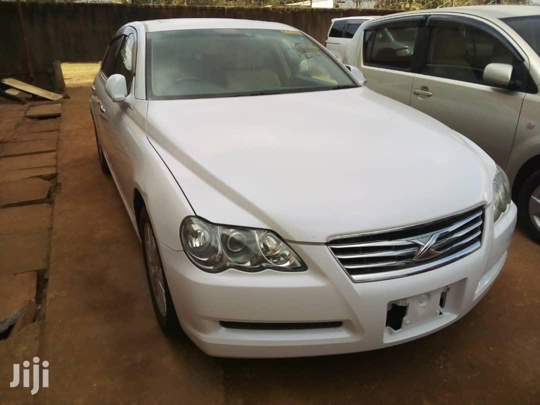Toyota Mark X 2007 White