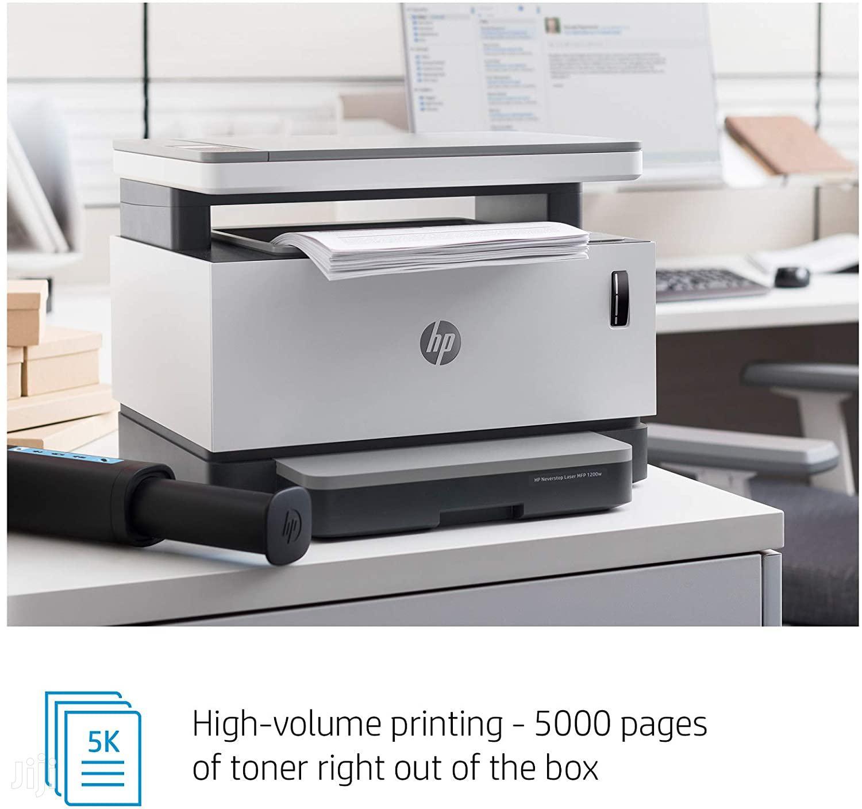 HP Neverstop Laser Multifunction Direct Wifi 1200w | Printers & Scanners for sale in Kampala, Central Region, Uganda