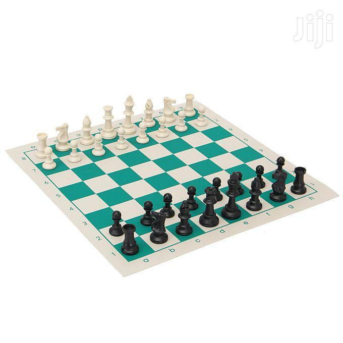 Chess And Storage Tin Set