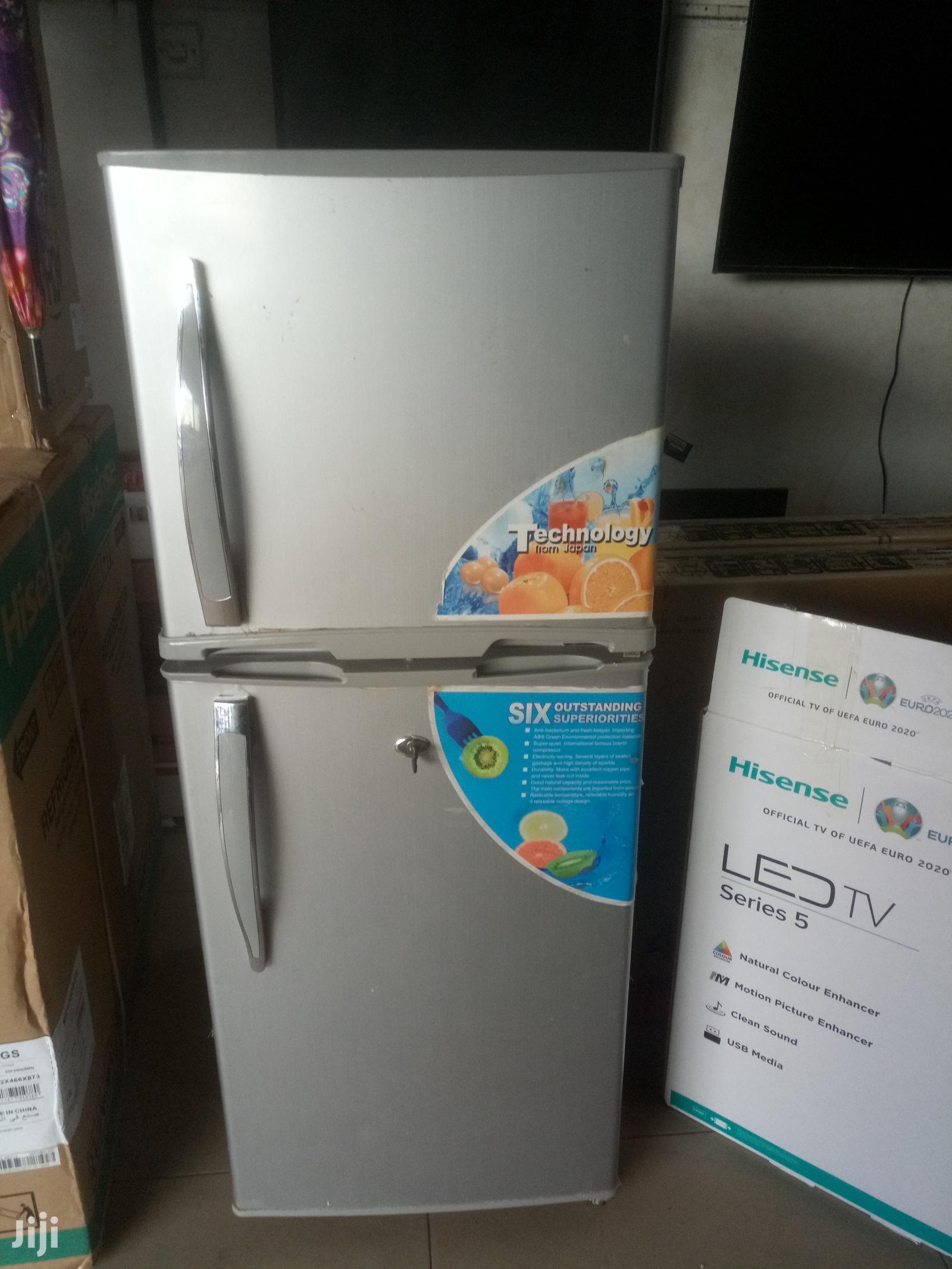 ADH Double Door Refrigerator 170L
