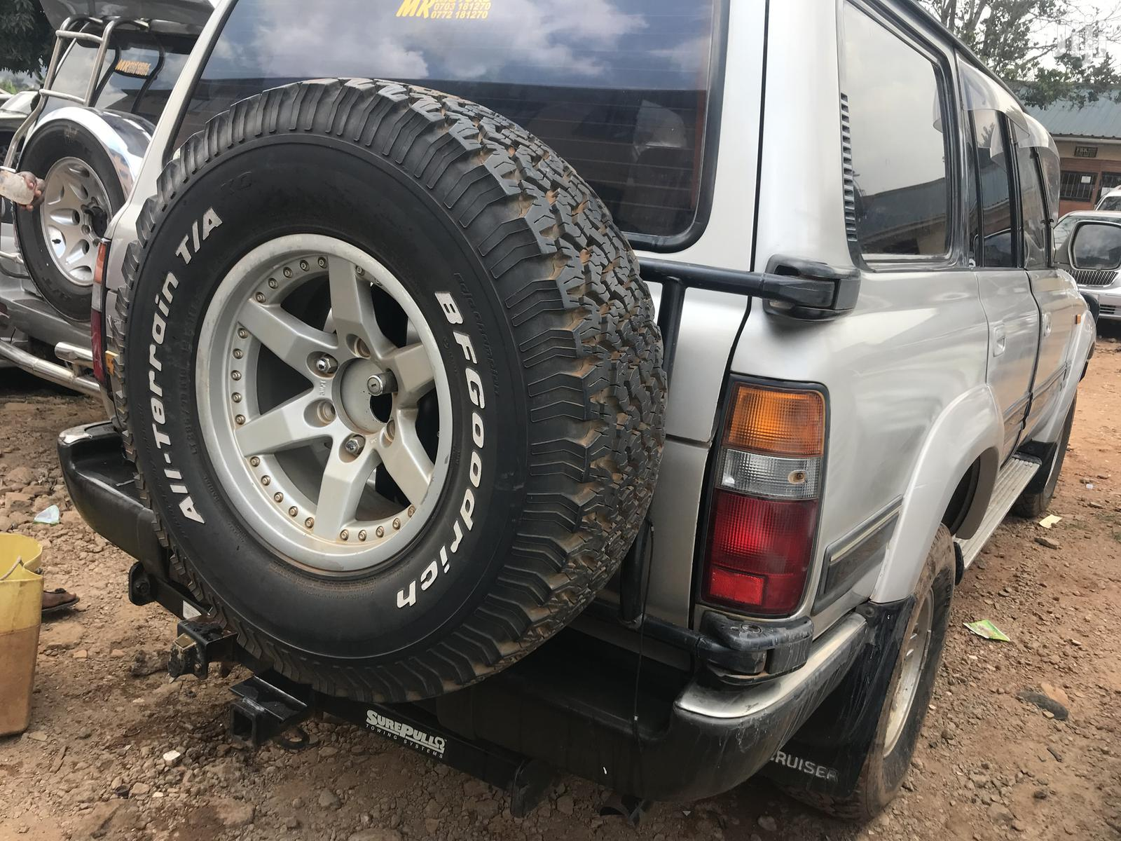 Toyota Land Cruiser 1998 Silver | Cars for sale in Kampala, Central Region, Uganda