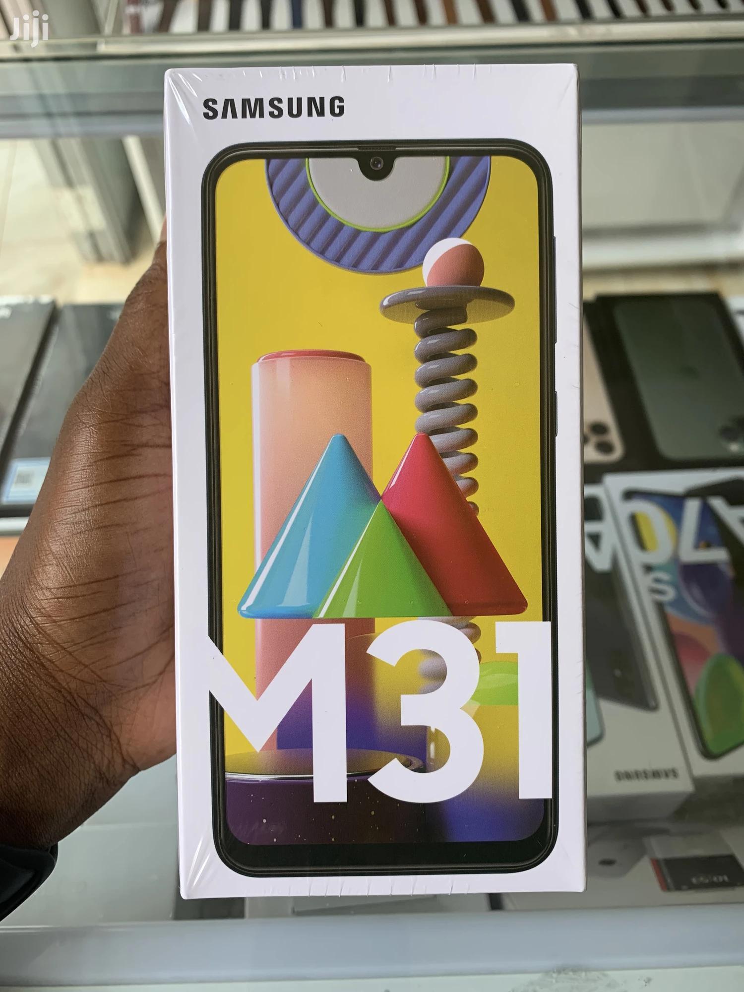 New Samsung Galaxy M31 128 GB Black